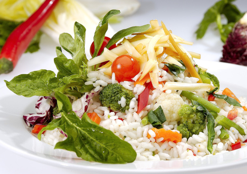 risotto with vegetables